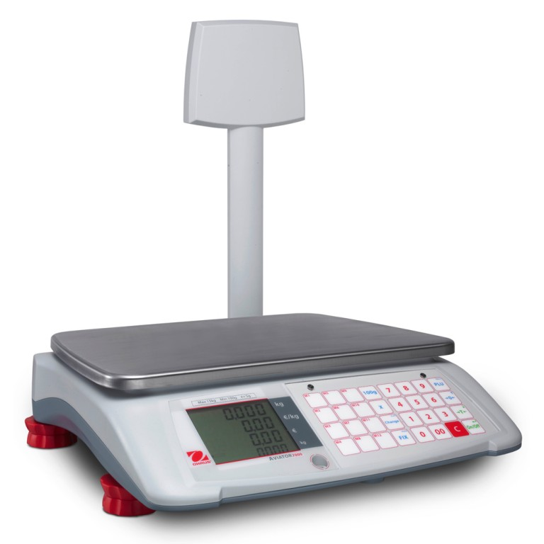 Abacus Scales Amp Systems Ohaus Aviator 7000 Retail Scales